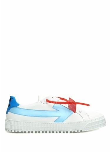 Off-White Sneakers Mavi